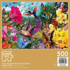 Hummingbirds and Butterflies 500 Piece Jigsaw Puzzle image number 3