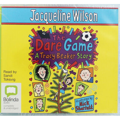 The Dare Game A Tracy Beaker Story: MP3 CD image number 1