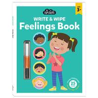 Junior Explorers Write and Wipe: Feelings Book