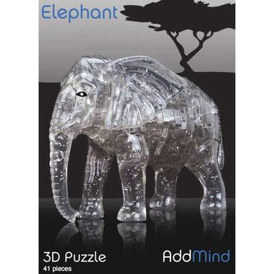 3D Elephant 41 Piece Jigsaw Puzzle image number 1