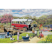 Old Swing Bridge 1000 Piece Jigsaw Puzzle