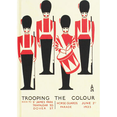 Trooping The Colour A6 Notebook image number 1