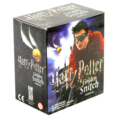 Harry Potter Golden Snitch Sticker Kit image number 1