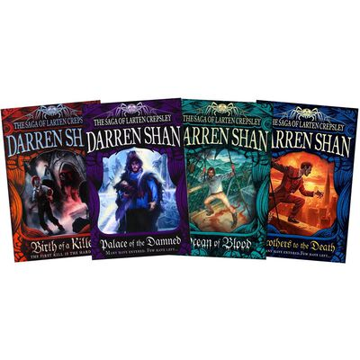 The Saga of Larten Crepsley: 4 Book Collection image number 1