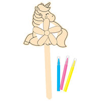 Colour Your Own Unicorn Windmill