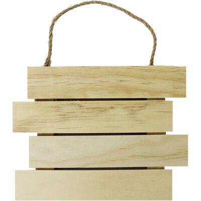 Wooden Hanging Sign image number 1