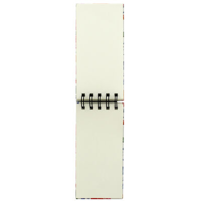 Floral Long Wiro Notepad image number 2