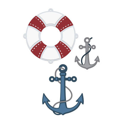 Crafters Companion Sara Signature Nautical Metal Die - Anchors Aweigh image number 3