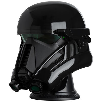 Giant Star Wars Death Trooper Helmet Bluetooth Wireless Speaker image number 3
