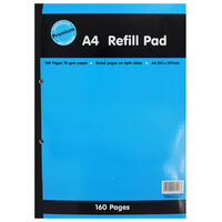 A4 Refill Pad - 160 Pages