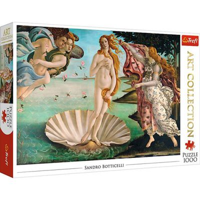 The Birth of Venus 1000 Piece Jigsaw Puzzle image number 1