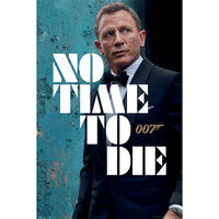 James Bond: No Time To Die Azure Teaser Wall Poster