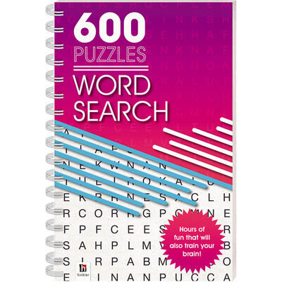 600 Puzzles: Wordsearch image number 1