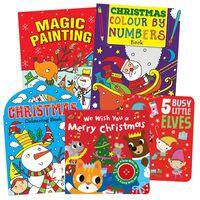 Festive Activity Book Bundle: Ages 3+