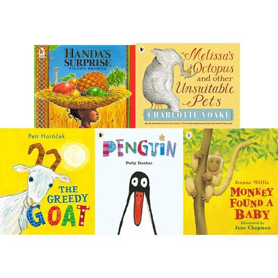 Greedy Goat and Friends: 10 Kids Picture Books Bundle image number 3
