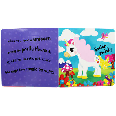 Sweet and Sparkly Unicorns: Touch-and-Feel Book image number 2