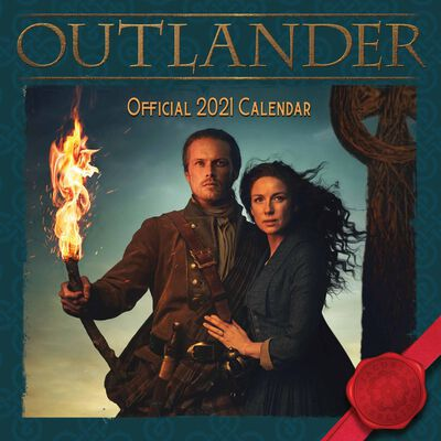 The Official Outlander 2021 Calendar image number 1