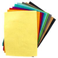 Sizzix A4 Brights Felt Sheets - 10 Pack
