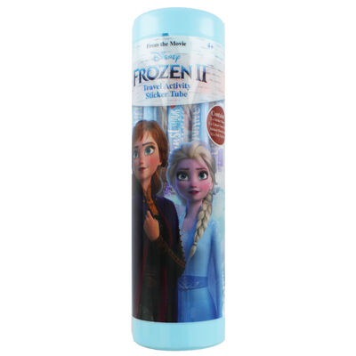 Disney Frozen 2 Travel Activity Sticker Tube image number 1