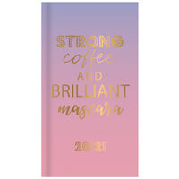 Ombre Coffee Week to View 2020-21 Academic Diary