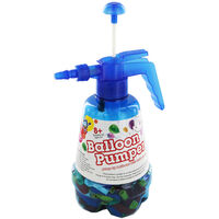 Large Water Balloon Pumper and 300 Balloons - Assorted