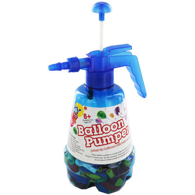Large Water Balloon Pumper and 300 Balloons - Assorted image number 1