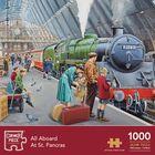 St Pancras 1000 Piece Jigsaw Puzzle image number 1