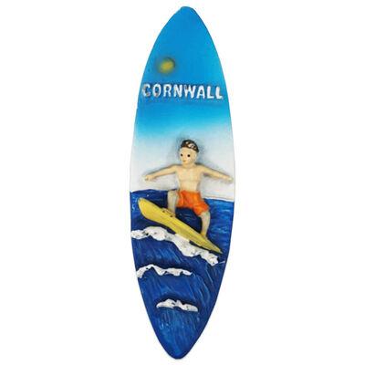 Cornwall Surfer Magnet image number 1