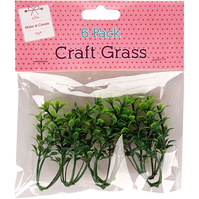 Craft Grass Pack of 6 image number 1