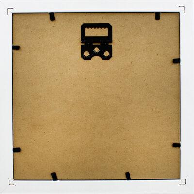 White Deep Box Frame - 15cm X 15cm image number 4