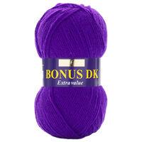 Bonus DK: Bright Purple Yarn 100g