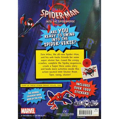 Spider Man into the Spider-Verse - 1000 Sticker Book image number 3