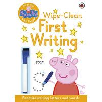 Peppa Pig: First Writing Wipe-Clean Book