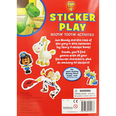 Toy Story 4: Sticker Play Rootin' Tootin' Activities image number 3