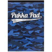 A4 Refill Pukka Pad Camo Blue