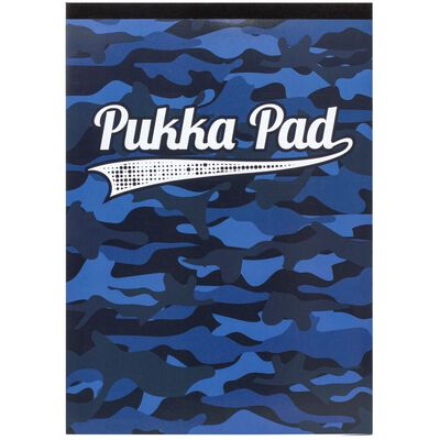 A4 Pukka Refill Pad Camo Blue image number 1