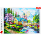Woodland Seclusion 500 Piece Jigsaw Puzzle image number 2