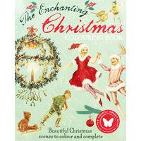 The Enchanting Christmas Colouring Book