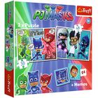 2 in 1 PJ Masks Night Warriors Jigsaw Puzzle image number 1
