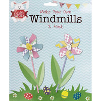 Make Your Own 2 Easter Windmills