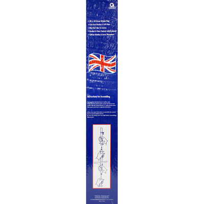 Union Jack 5ft Flag with Pole and Mount image number 3