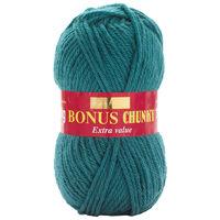 Bonus Chunky: Petrol Yarn 100g