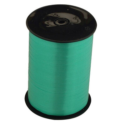 Emerald Balloon Curling Ribbon - 500m x 5mm image number 1