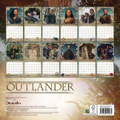 The Official Outlander 2021 Calendar image number 3