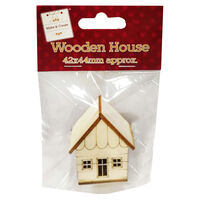 Small Wooden House Decoration