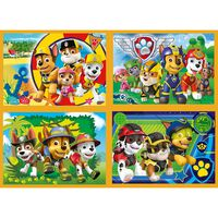 Paw Patrol 4-in-1 Jigsaw Puzzle Set
