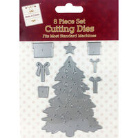 Large Christmas Tree Metal Die Set