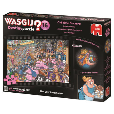 Wasgij Destiny 16 Old Time Rockers 1000 Piece Jigsaw Puzzle image number 3