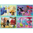 4 In 1 Trolls Jigsaw Puzzle Set image number 2