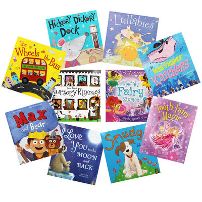 Story Time Favourites - 10 Kids Picture Books Bundle image number 1